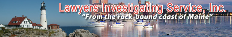 Maine Private Investigators for Lawyers